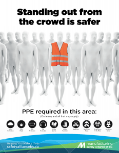 PPE Awareness Hi-Vis