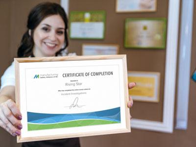 learning certificate